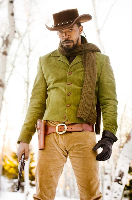 Nueva imagen de Django desencadenado... Jamie Foxx como Django