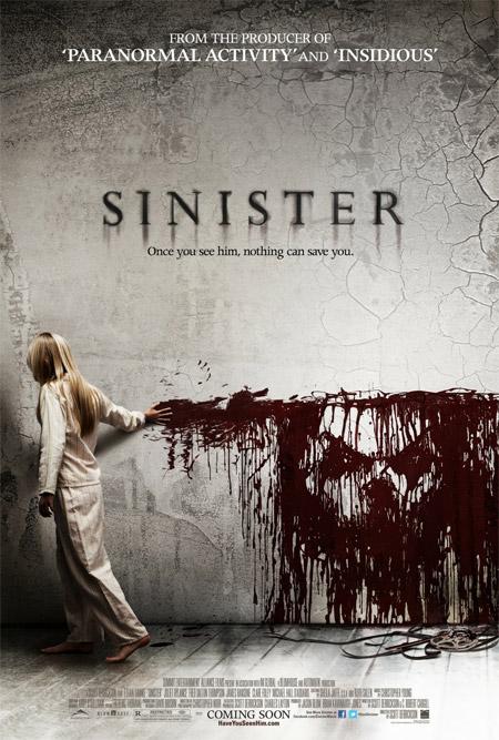 Primer terrorífico cartel de Sinister de Scott Derrickson