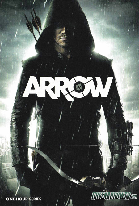 "Primer cartel de ""Arrow"""