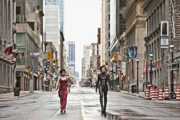 Una nueva imagen de Resident Evil: venganza con Ada Wong y Alice