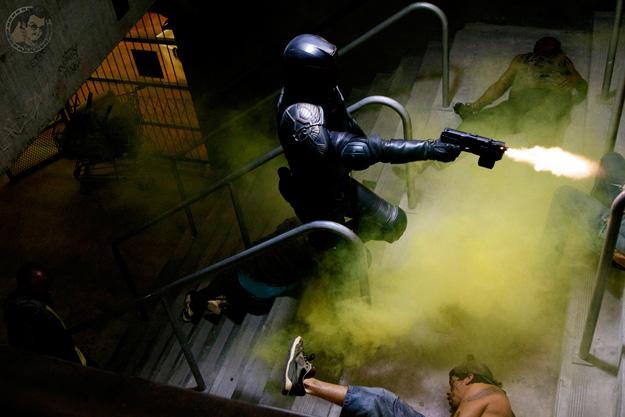 Primera imagen molona de Dredd