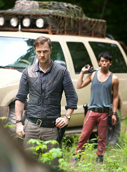 "David Morrisey como el Gobernador en la nueva temporada de ""The Walking Dead"""