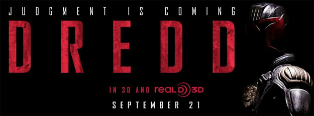Nuevo banner de Dredd de Pete Travis