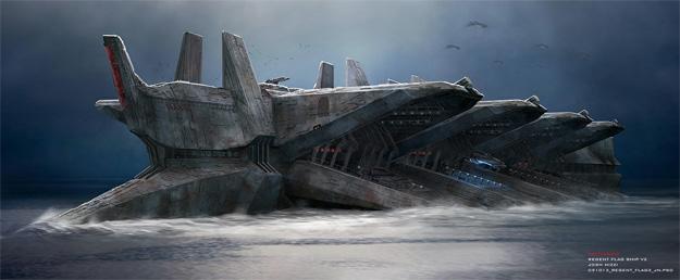 Concept Art de Battleship