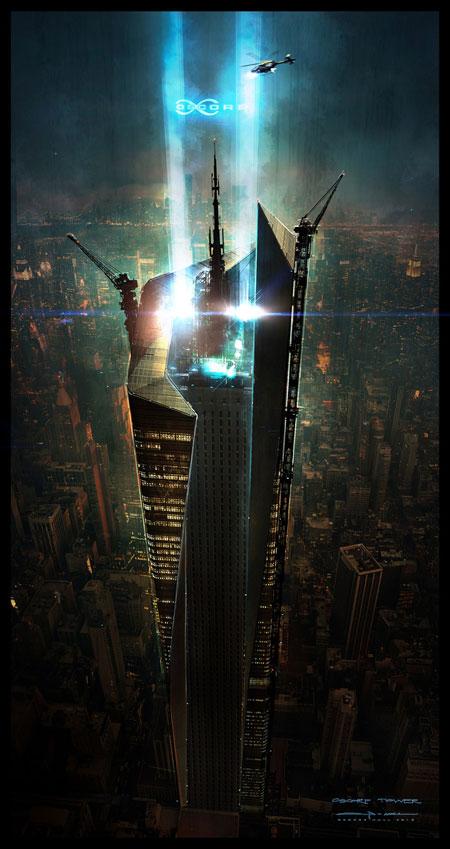 Concept art de The Amazing Spider-Man