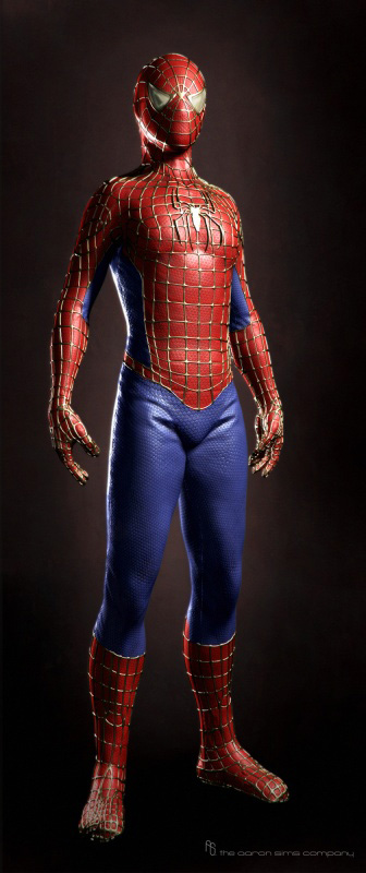 Concept art de The Amazing Spider-Man