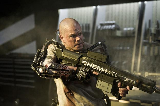 Otro viejo nuevo vistazo a Matt Damon en Elysium