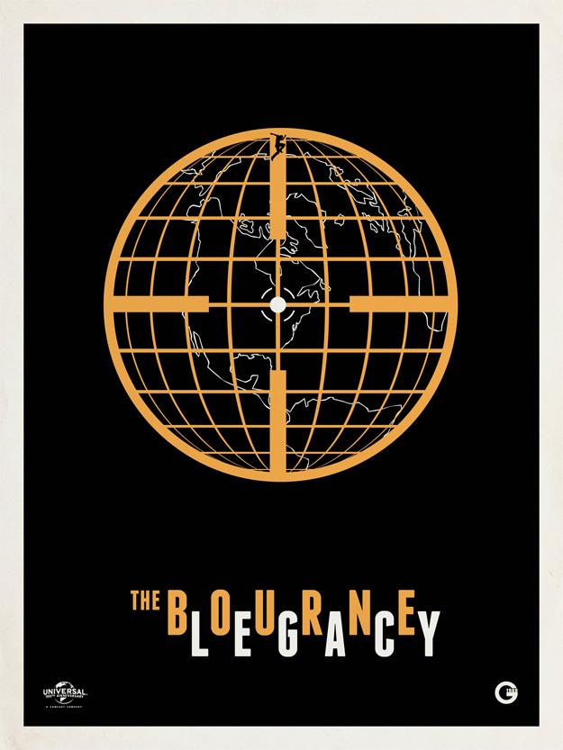 Cartel de El legado de Bourne