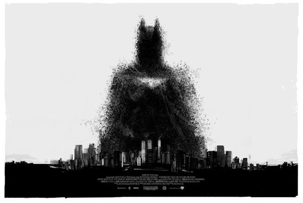 Cartel de El caballero oscuro: la leyenda renace