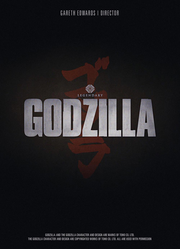 El primer póster de Godzilla de Gareth Edwards