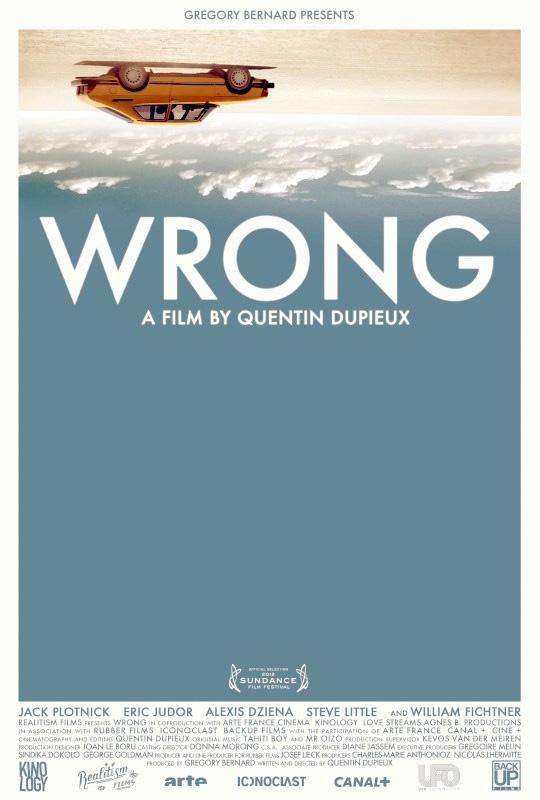El póster de Wrong