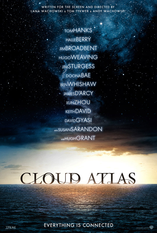 Póster oficial de Cloud Atlas