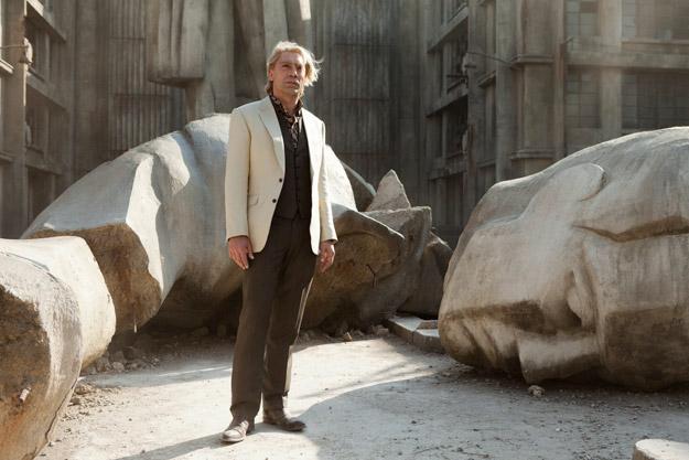Javier Bardem como Silva, el gran villano de Skyfall... da miedo esa pinta que tiene de chungo