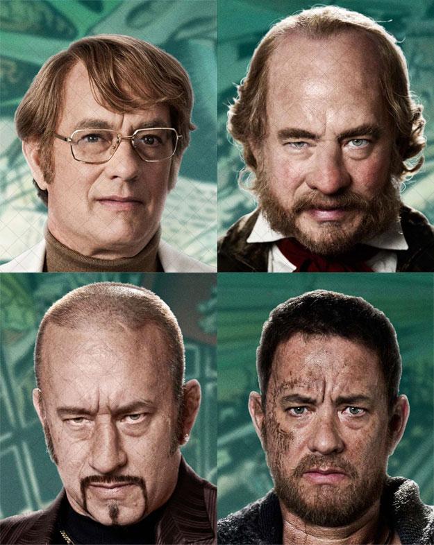 Los cuatro rostros de Tom Hanks en Cloud Atlas