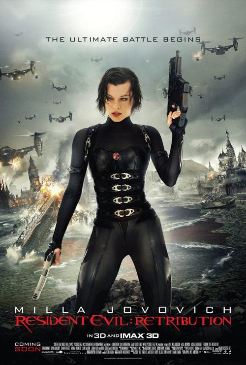 Más madera Resident Evil: venganza