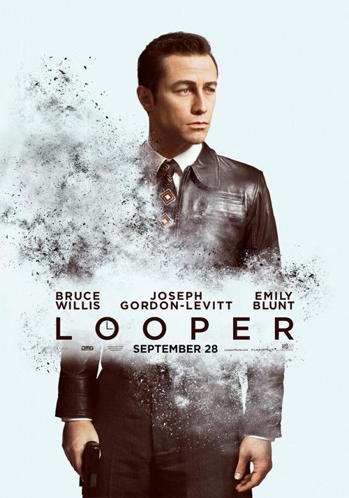 Un nuevo cartel de Looper con la versión joven de Bruce Willis
