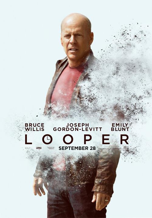 Un nuevo cartel de Looper con la versión madura de Joseph Gordon-Levitt