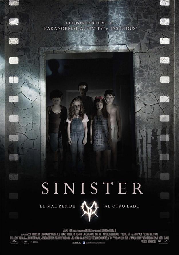 Nuevo cartel de Sinister, no es el mejor que digamos