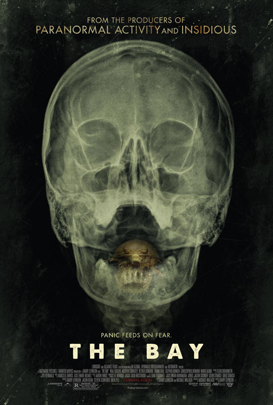 Primer cartel del film de terror The Bay