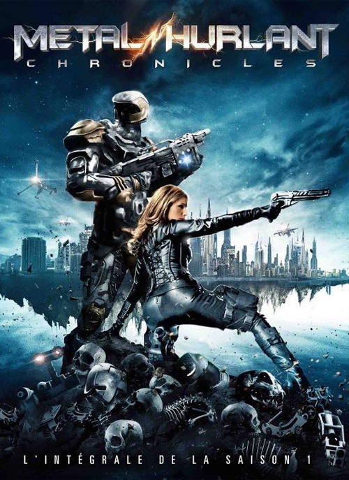 "El primer cartel de ""Metal Hurlant Chronicles"""