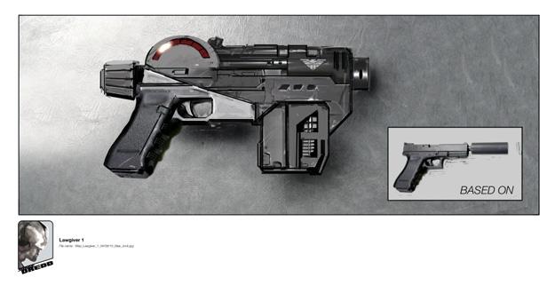 La pistola modo DNA del Juez