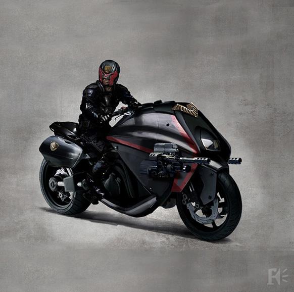 La moto del Juez