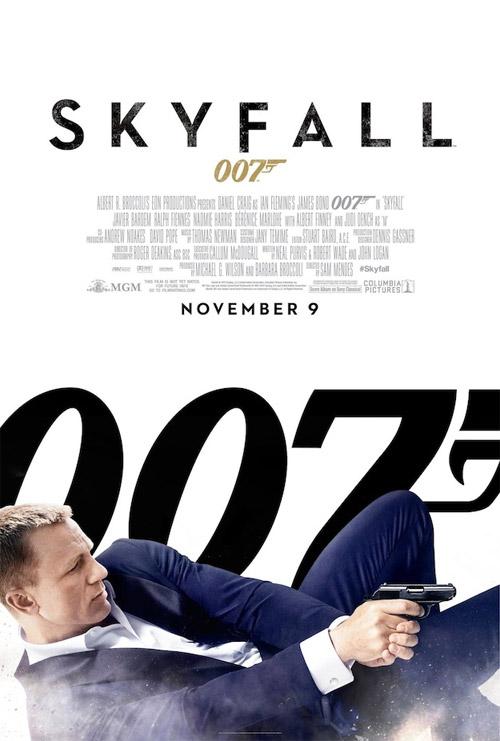 El nuevo cartel de Skyfall es poco atrevido