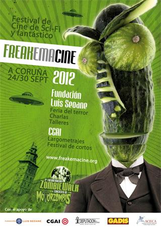 Cartel de FREAKEMACINE 2012
