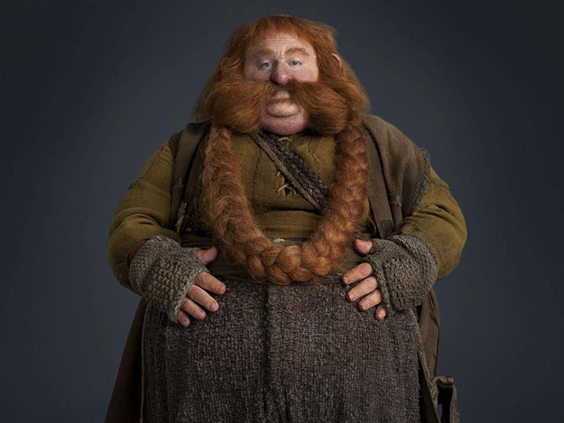 Stephen Hunter como Bombur