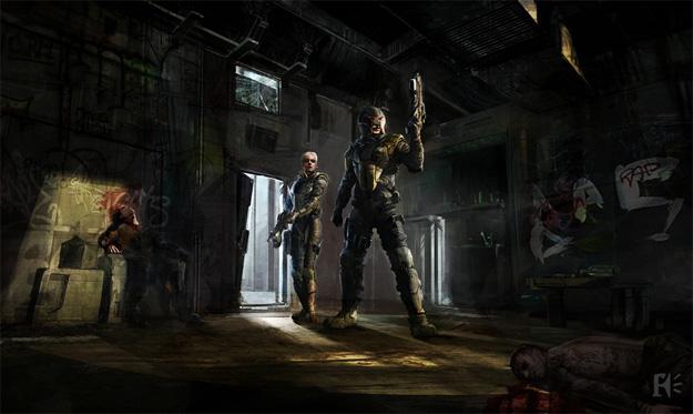 Dredd y Anderson se cuelan en el edificio de Ma-Ma