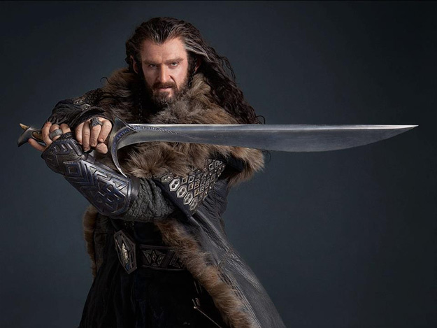 Richard Armitage como Thorin Escudo de Roble
