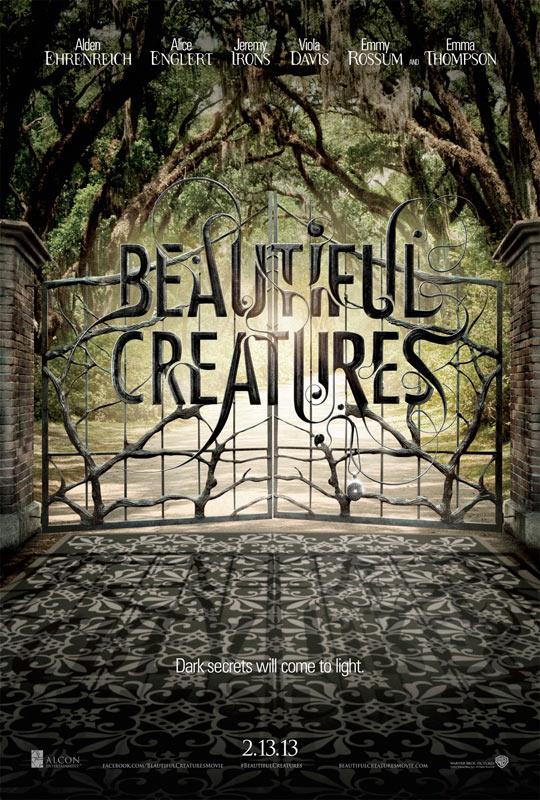 Poco elaborado el cartel este de Beautiful Creatures
