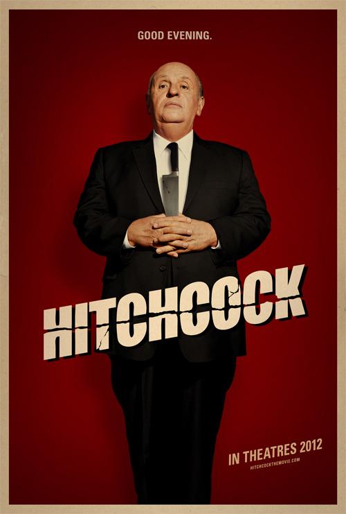 Magistral cartel del biopic Hitchcock