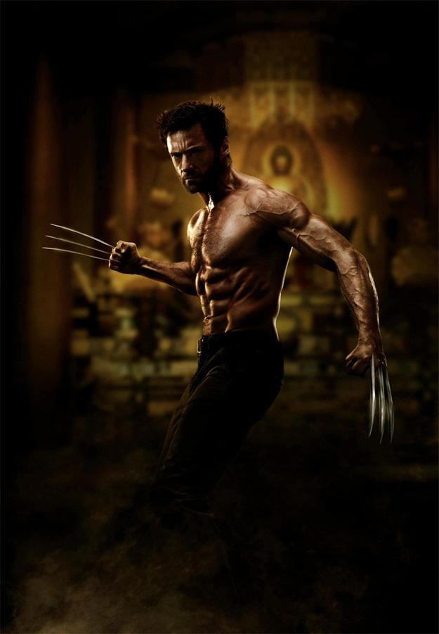 Hugh Jackman como Logan en The Wolverine