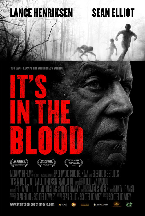 Cartel de It's in the Blood... esta tiene buena pinta