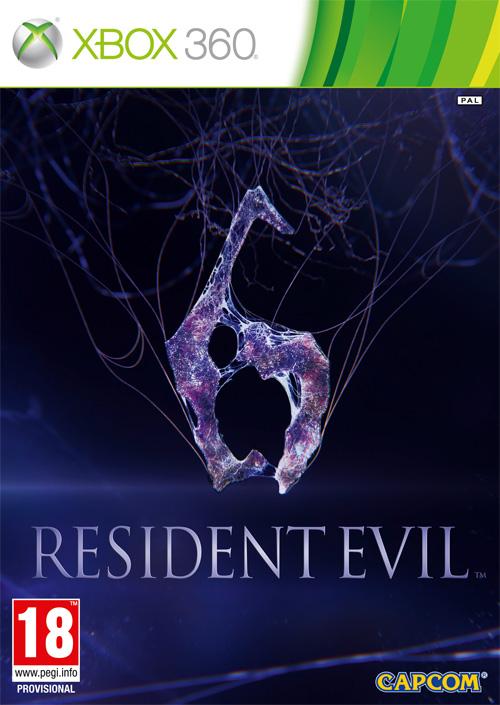 Portada del Resident Evil  6 para XBOX