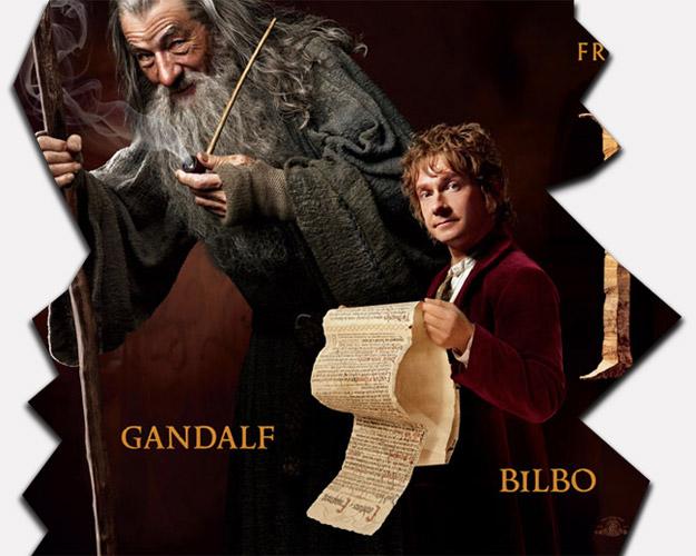 Para ver el nuevo megacartel de El Hobbit: Un Viaje Inesperado tenéis que pulsar sobre la imagen
