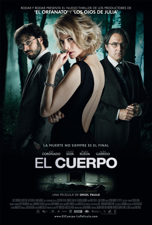 Nuevo cartel de El Cuerpo vía Sony Pictures Releasing de España, S.A.