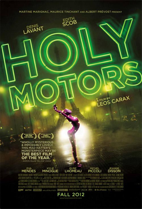 Cartel de Holly Motors