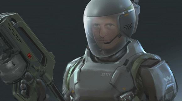 Esta imagen es para cagarse el doble tras la anterior... ¿Roy Batty trabajando en Weyland?