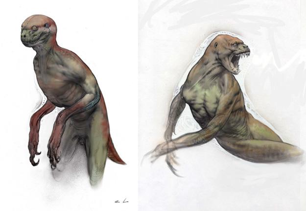 Concept Art del Jurassic Park 4 cancelado