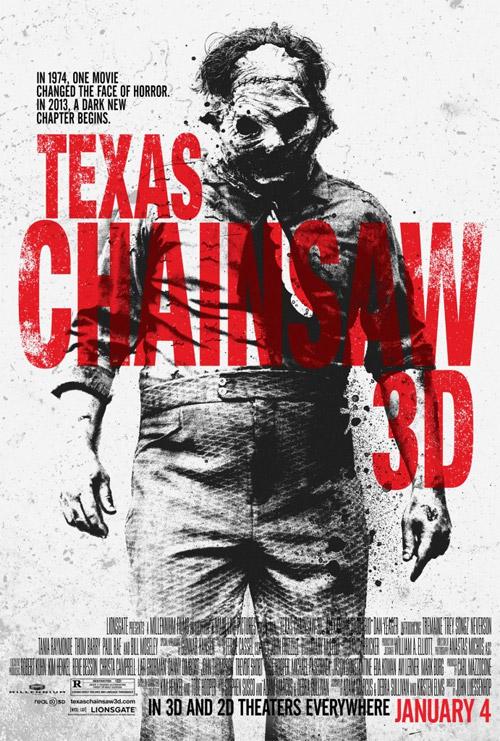 El cartel filtrado el otro día de Texas Chainsaw 3D pero ahora en HD para la NYCC