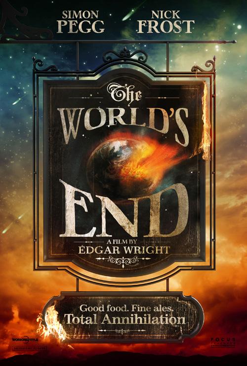 Y el nuevo cartel de The World's End de Edgar Wright