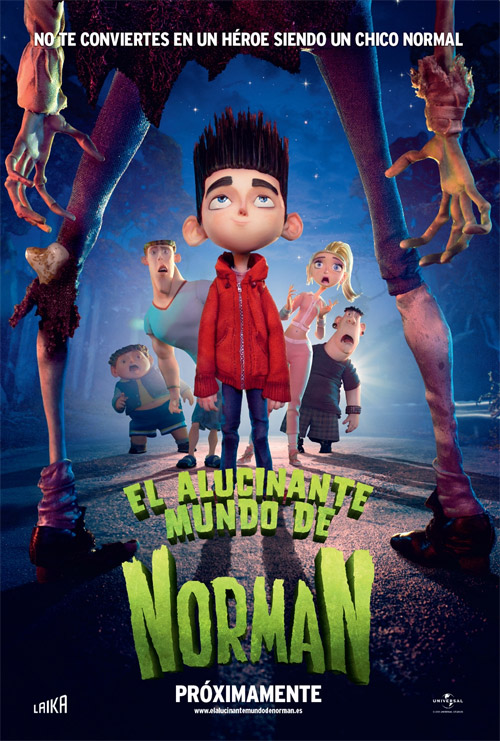 Cartel de El alucinante mundo de Norman