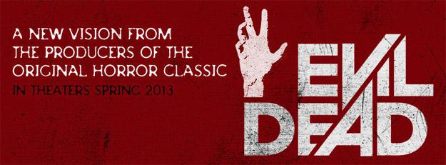 El logo oficial de Evil Dead
