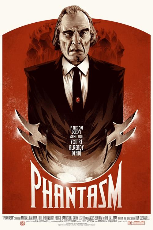 Magnífico cartel mondo de Phantasma
