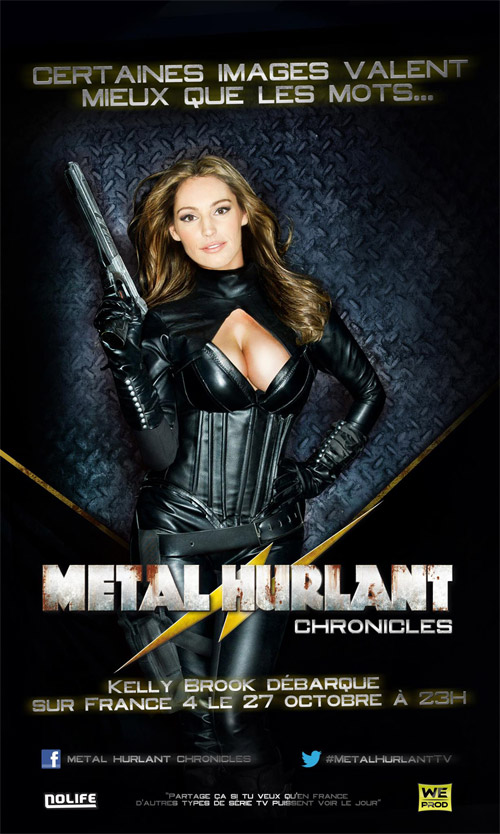 Nuevo cartel de infarto de Metal Hurlant Chronicles