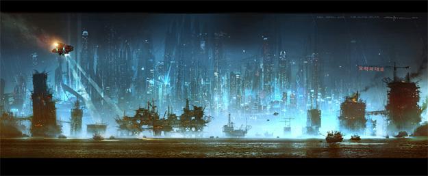 Concept art de Cloud Atlas