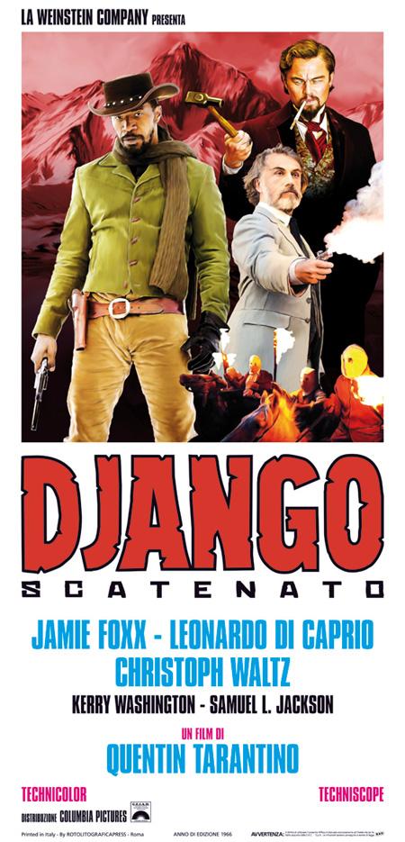Cartel fan made de Django desencadenado