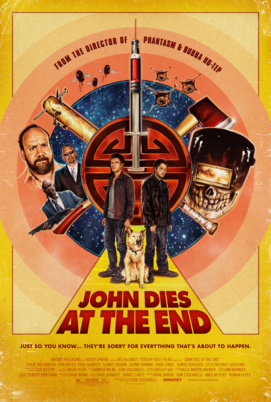 Cartel molón de John Dies at the End... casi tanto como el film en si